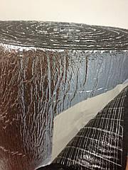 Самоклеющаяся изоляция вспененный каучук 6 мм, 14 м2/рул.