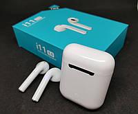 Наушники сенсорные беспроводные Bluetooth i11 TWS наушники блютуз, фото 1