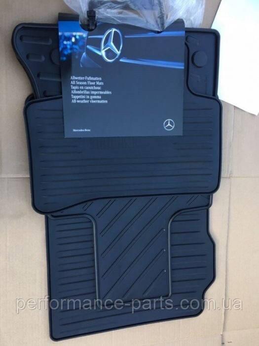 Коврики гумові Mercedes GLK X204 A20468039049G33 A20468011019G33