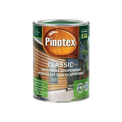 Pinotex classic КРАСНОЕ ДЕРЕВО / 1 л. / (бан.), фото 2