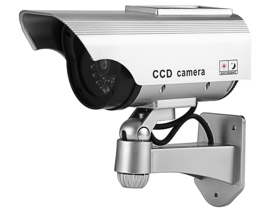 Камера муляж уличная DS-G1123 с солнечной панелью