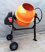 Бетономешалка 250 литров,  вертикальная бетономешалка с чугунным венцом , фото 3