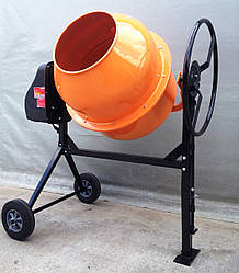 Бетономешалка 250 литров,  вертикальная бетономешалка с чугунным венцом