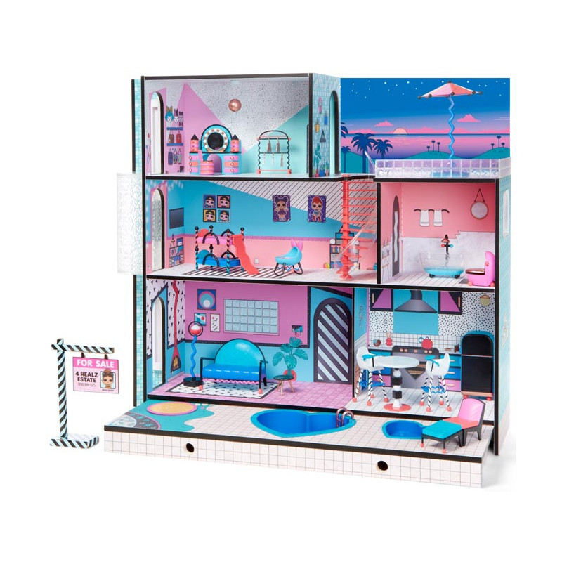 Домик для кукол L.O.L. Модный особняк Surprise Dollhouse 555001