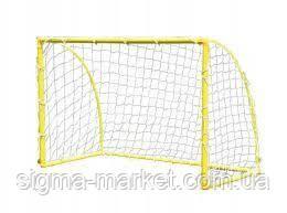 Ворота футбольные мет. 183x122x92