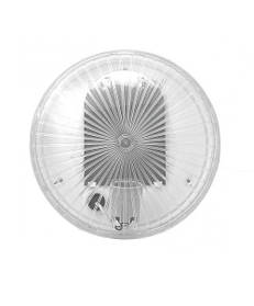 Светильник пластиковый белый, Е27, 60W, 235х80 мм, IP65, НПП, Ecostrum (01-71-51) шт.
