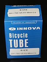 Камера велосипедная 22x1.75/2.125 A/V 48 mm 0.9 для электровелосипеда Innova