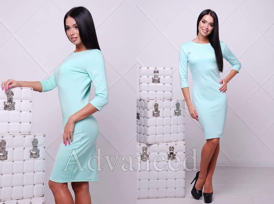 b7227e19d97 Платье сукня футляр карандаш рукав 3 4 купить 42 44 46 48 50 Р ...