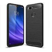 Чехол силиконовый TPU на Xiaomi Mi 8 Lite черный
