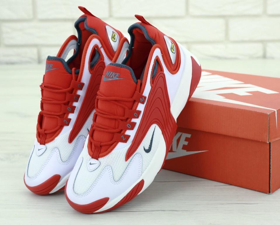 Мужские кроссовки в стиле Nike Zoom 2k Red (Реплика ААА+)
