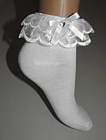 Шкарпетки дитячі білі за 1 пару 5-7 років (G898)