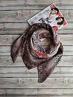 Женский тоненький платок  Капучино