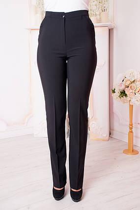 Жіночі брюки Віра. Чорні., фото 2