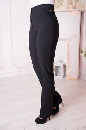 Женские брюки Вера. Чёрные., фото 2