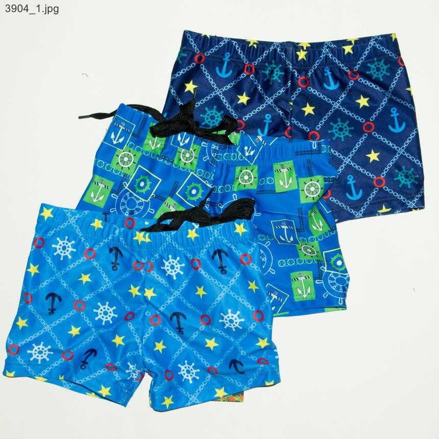 Купальные детские боксеры 28-36р - 3904, фото 2