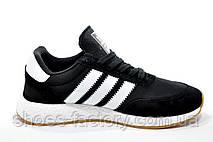 Кроссовки унисекс в стиле Adidas Originals Iniki Runner, Black\White, фото 2