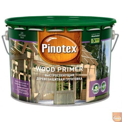Pinotex Wood Primer, 10л (Пинотекс Вуд Праймер)