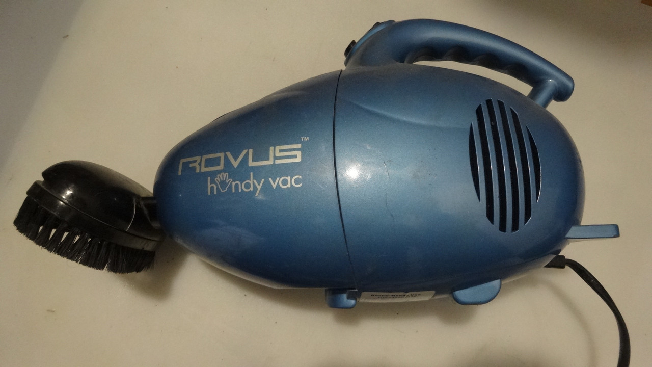 Компактный пылесос Rovus Handy Vac для авто или квартиры