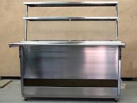 Прилавок охлаждаемый открытый 1500*700*1500 мм