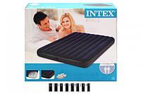 Надувной двуспальный матрас Intex 68759 (152х203х22см) интекс