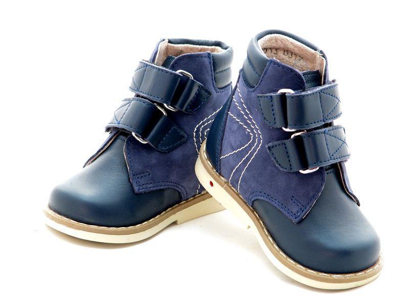 Ботинки для ясельного возрaстa 2713 синие, размер 18