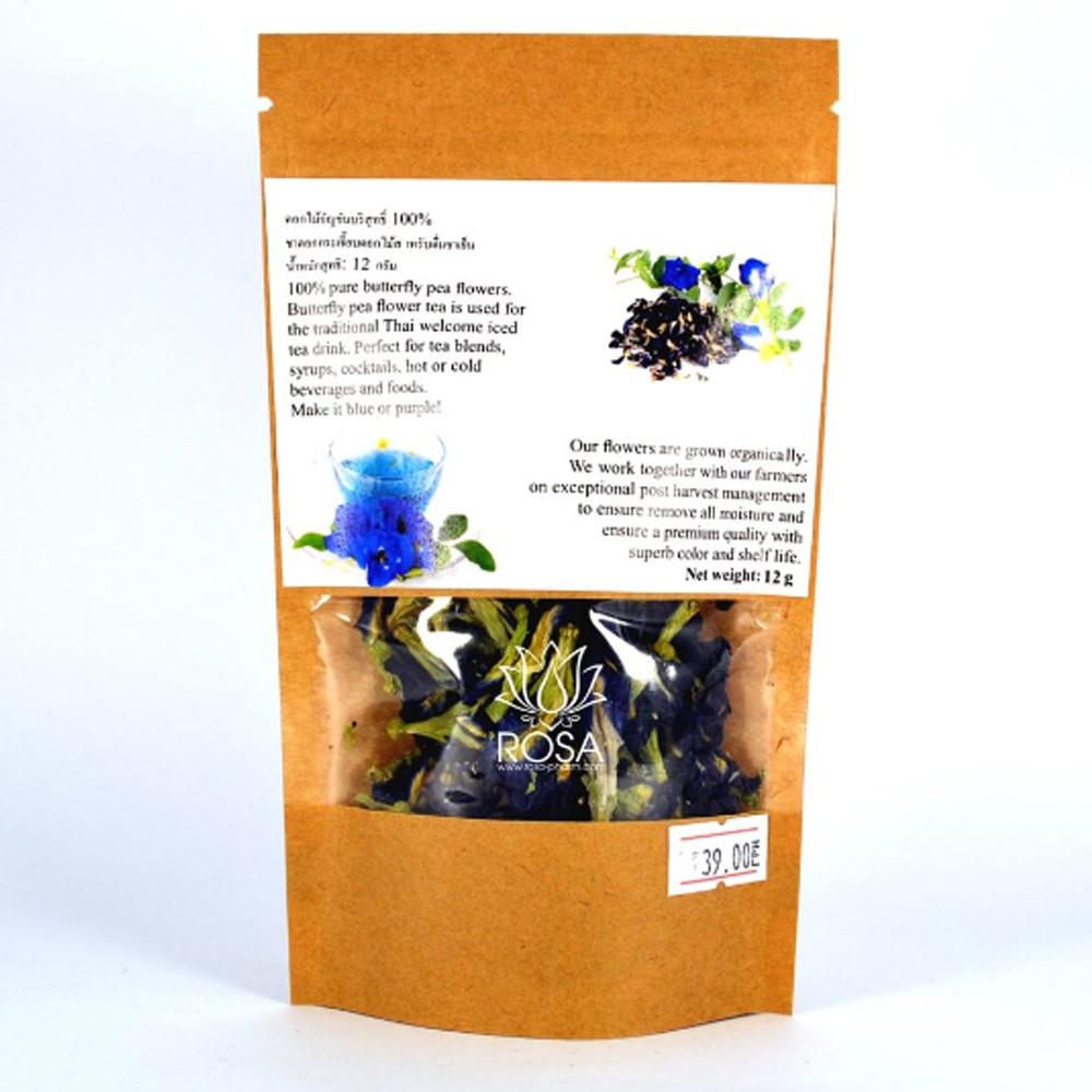Синий чай Анчан - для зрения, волос и хорошей фигуры, 12 грамм