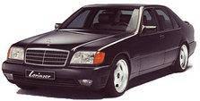 Захист двигуна, КПП, роздатки Mercedes W140 1991-1998