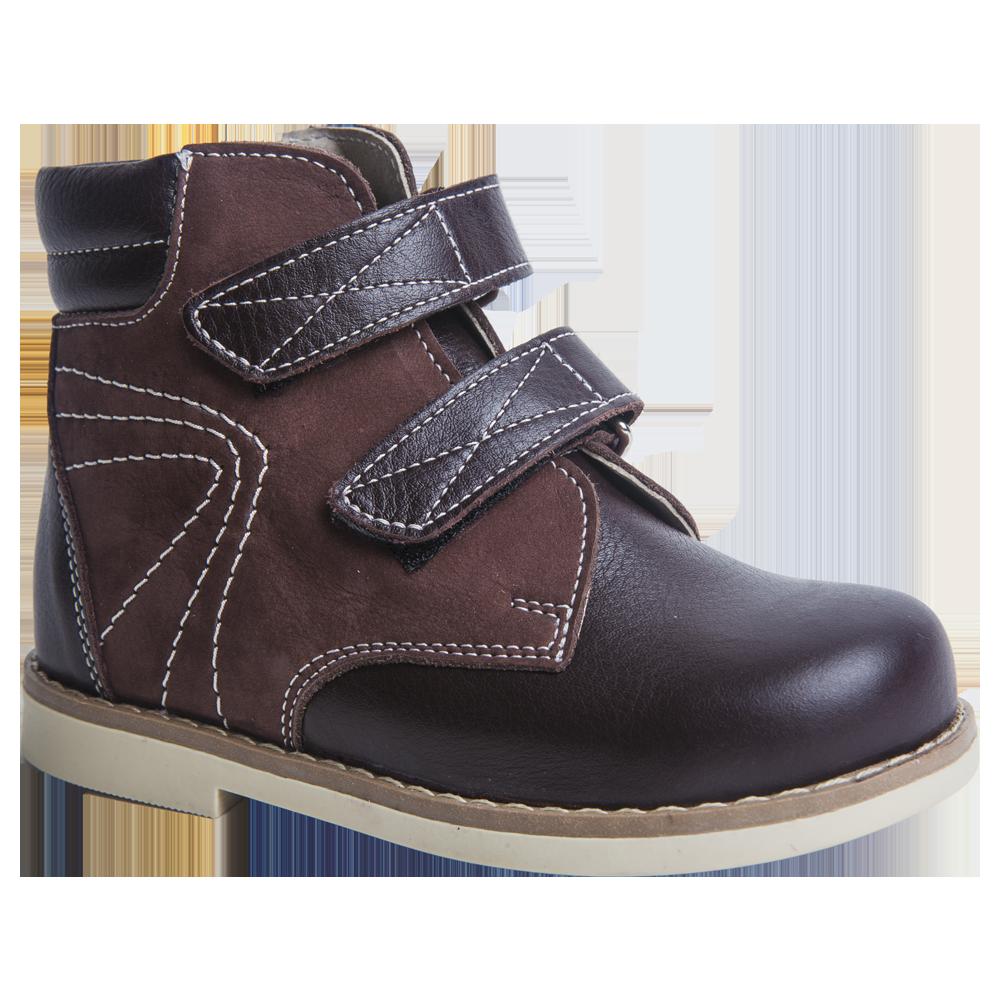 Ботинки дошкольные 1313 коричневые, размер 27
