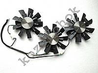 Вентилятор №136 кулер для видеокарты Zotac AMPExtreme GTX 1070Ti 1080 GA91S2H GA92S2U