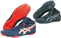Обувь для борьбы борцовки замшевые Asics 502, 2 цвета: размер 37-43