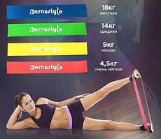 Набор Фитнес резинок из 4 штук