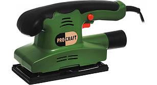 Плоскошліфувальна машина ProCraft PV450. Вібраційна шліфмашина ПроКрафт