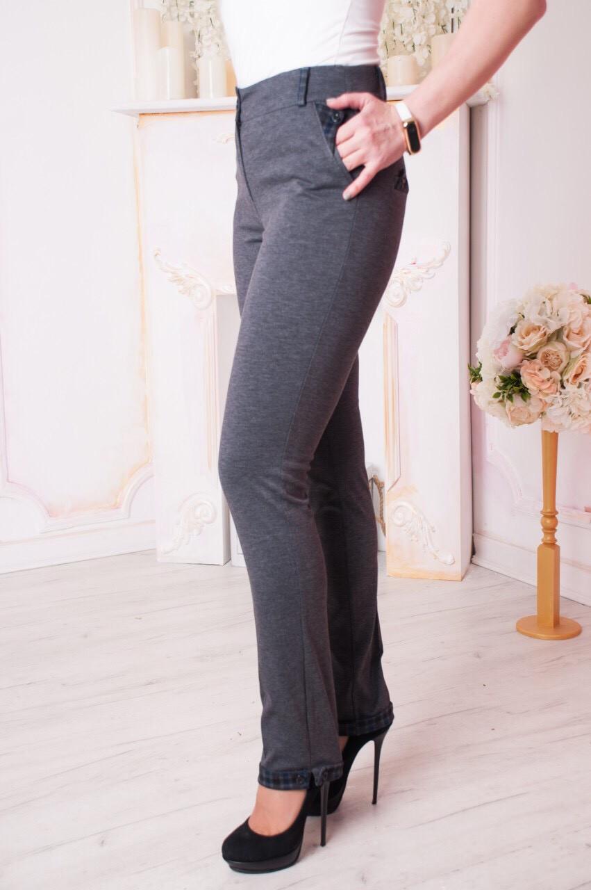 Жіночі брюки Хіларі. Сірі.