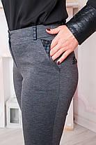 Жіночі брюки Хіларі. Сірі., фото 2