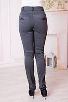 Жіночі брюки Хіларі. Сірі., фото 3