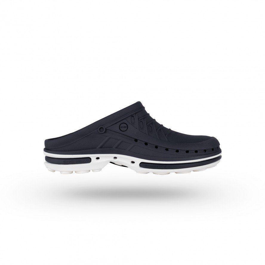 Профессиональная обувь WOCK модель CLOG 03 white/Navy Blue, 36/37