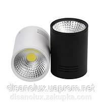 Светильник Downlight светодиодный LED накладной COB 20W белый 6500К, фото 2