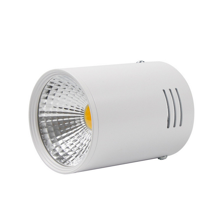 Светильник Downlight светодиодный LED накладной COB 20W белый 3000К