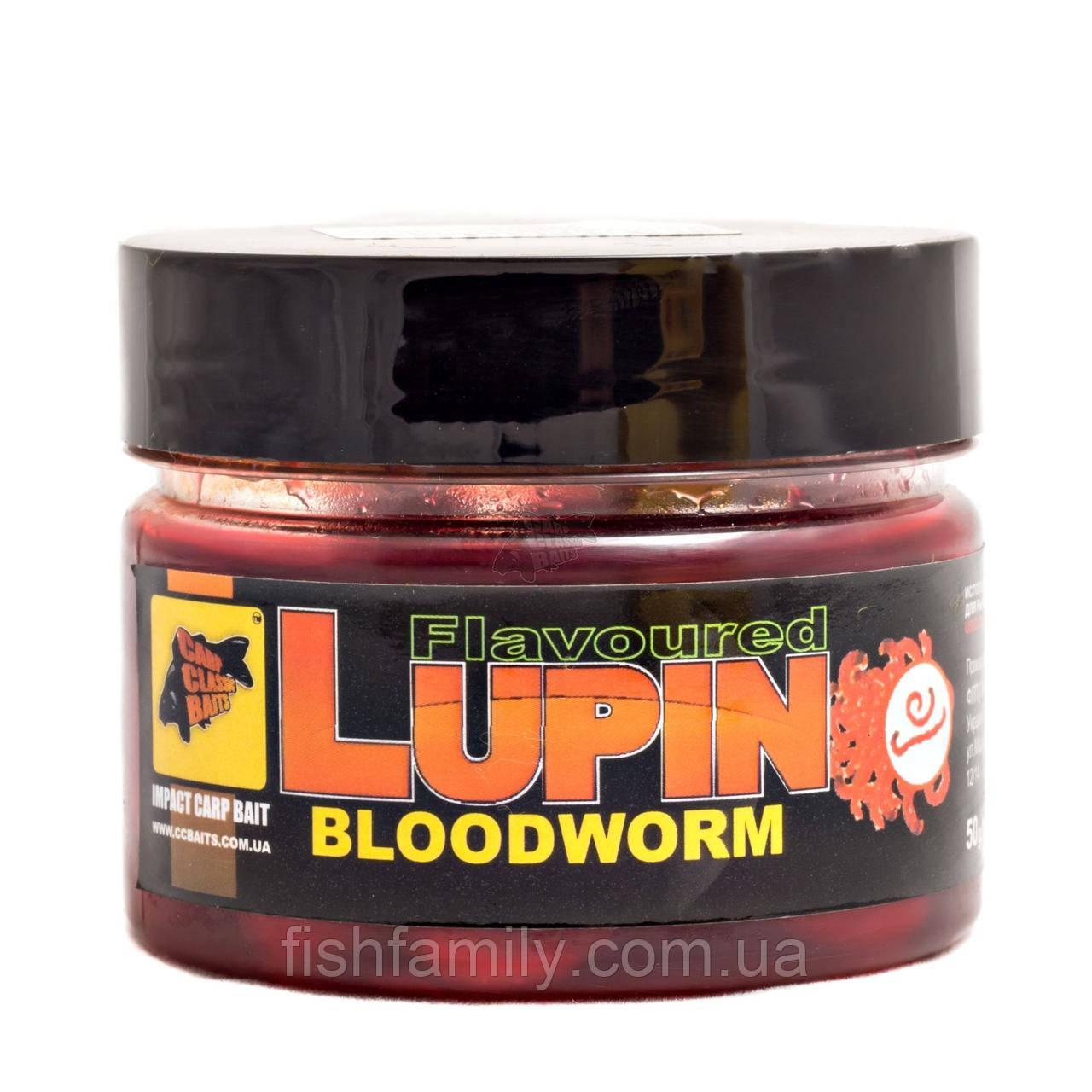 Ароматизированный Люпин Bloodworm [Мотыль], 50 гр, Люпин