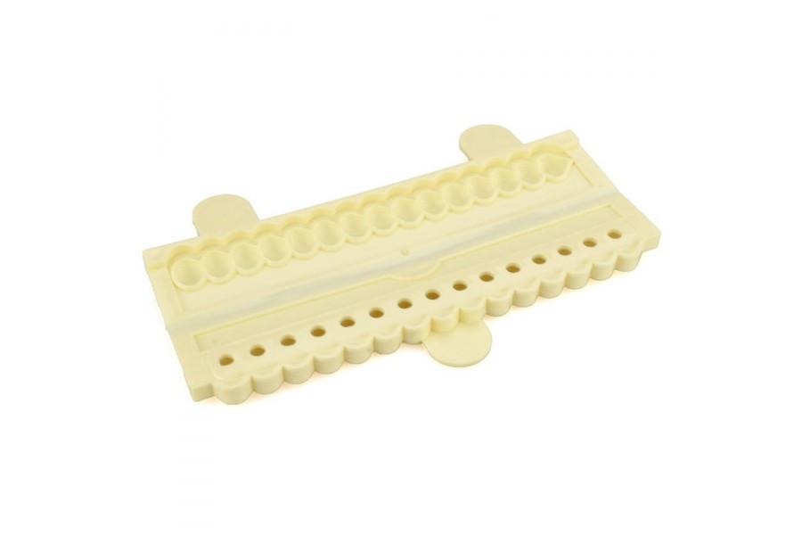 Молд для изготовления ракушек из мастики 9см, Галетте - 01472
