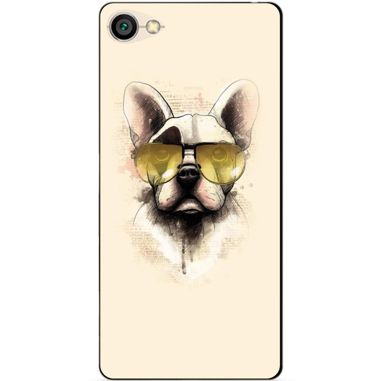 Силиконовый чехол бампер для Xiaomi Redmi Note 5a с рисунком Собака