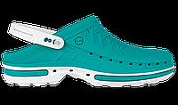 Профессиональная обувь WOCK модель CLOG, цвет зеленый, размер 36/37, фото 1