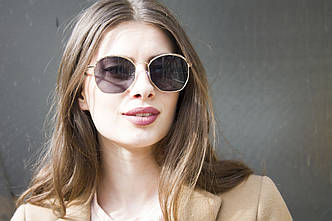 Солнцезащитные женские очки 9372-1, фото 2