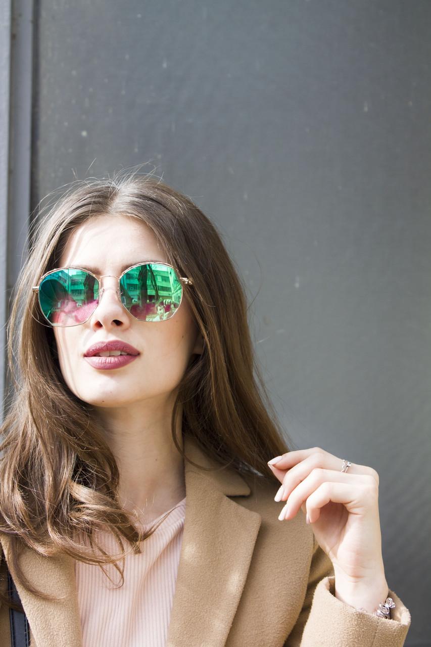 Солнцезащитные женские очки 9372-5