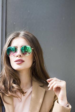 Солнцезащитные женские очки 9372-5, фото 2