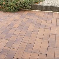 Тротуарная плитка Золотой Мандарин Паркет 6 см, савона