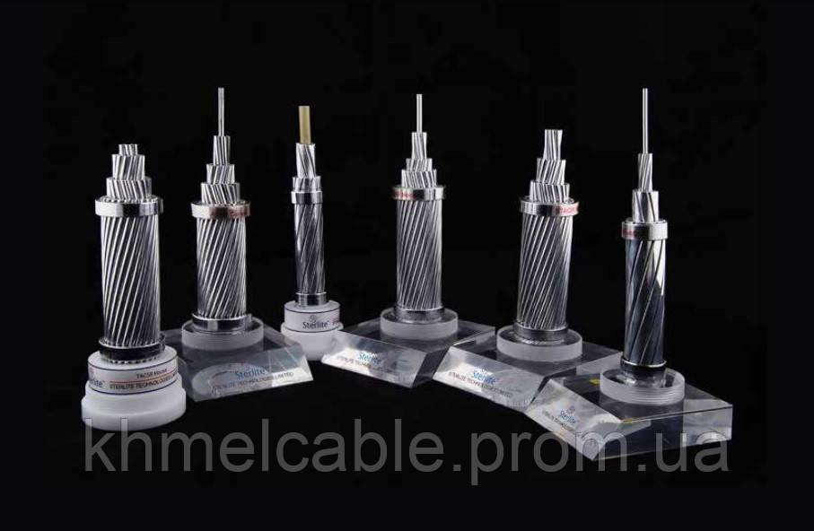 Грозозахисний трос із вбудованим ВОК OPGW / ОКГТ  (SterlitePower)