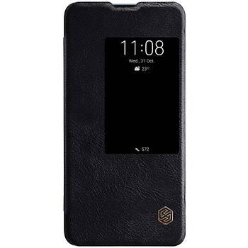 Кожаный чехол (книжка) Nillkin Qin Series для Huawei Mate 20 X