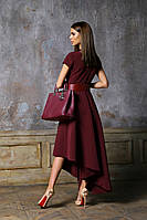 Платье женское ассиметрия на один бок