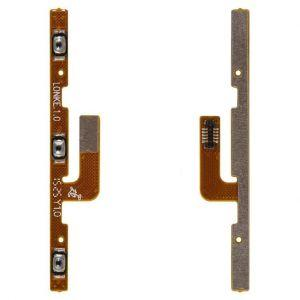 Шлейф для Meizu MX5 (M575), с кнопкой включения, с кнопками регулировки громкости